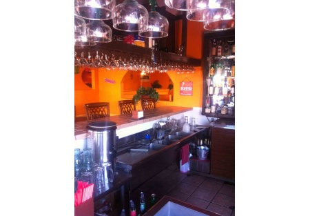 Full bar, great location, good rent and enclosed patio