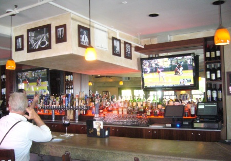 Beach Front Sports Bar Has Location and Game + Hard Liquor