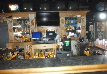 Full liquor, great location for a bar and grill, super cheap rent
