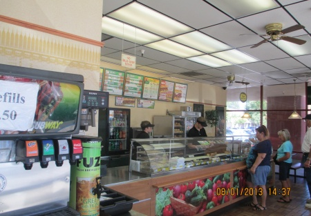 Subway Franchise Restaurant For Sale In Northern California