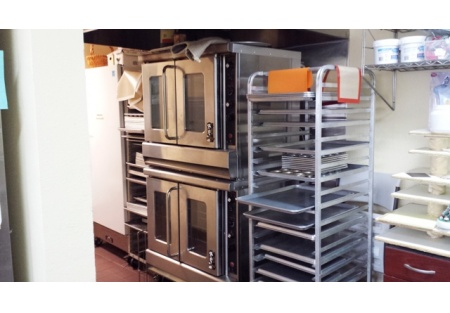 Commercial Kitchen/bakery for sale california