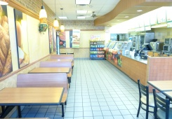 Profitable franchise restaurant, low rent, high traffic bargain priced