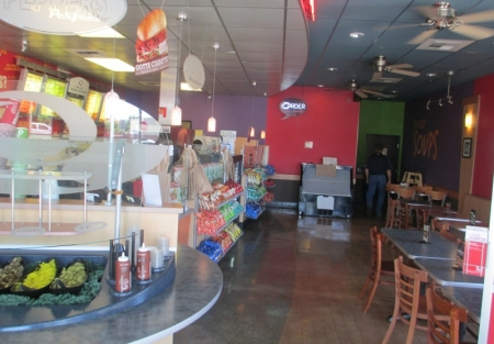Quiznos Sub Franchise Restaurant for Sale in Merced County CA