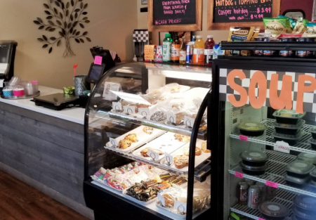 Yogurt shop with Lunch/Bakery items in Placer County