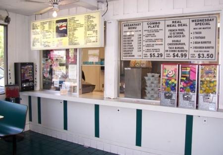 Rare Fast Food Restaurant With Drive-Thru