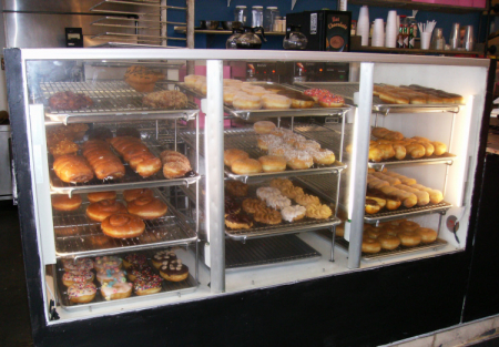 PROFITABLE Long Time Donut Shop on BUSY STREET - Low Rent