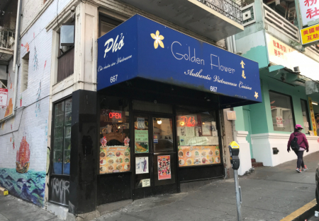 Established Vietnamese restaurant for sale in SF Chinatown