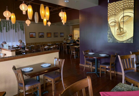 Established Thai restaurant with Type 47 hard liquor license