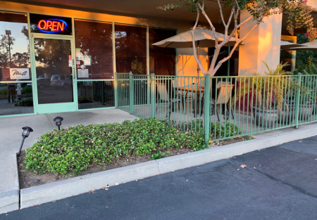 Established Asian fusion with front patio in Rancho Cordova