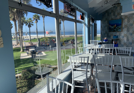 Coastal San Diego Restaurant with Low Rent and Big Sales