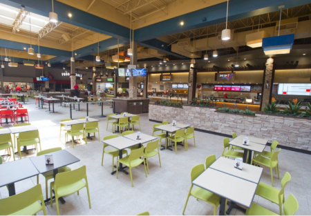 Prime Food Court Location w/Full Kitchen