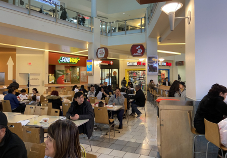 Asian Filipino restaurant for sale in Food court of Tanforan Mall