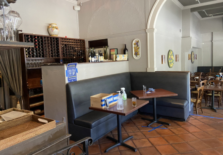 Top ten Italian restaurant for sale in SF Noe Valley
