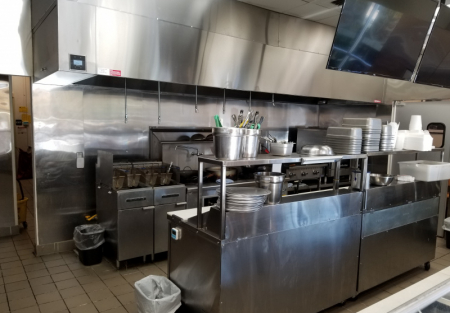 Sacramento - Ansul Hood Fixtured Restaurant for Lease