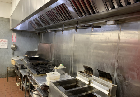 Remodeled Sushi-16 foot hood system-walk in cooler-bring offers!