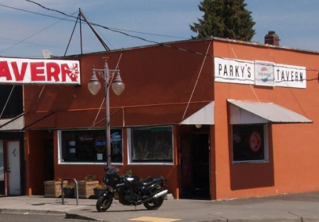 Parky's Tavern with Real Estate