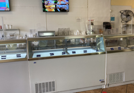 Absentee run Ice Cream shop for sale in Brentwood shopping center