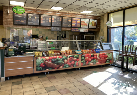 Subway Franchise for sale in Fremont shopping center
