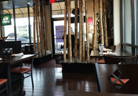 Beautiful Asian restaurant for sale in Concord shopping center