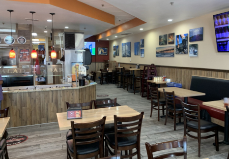 Pizza-Franchise great build out -busy center sales booming