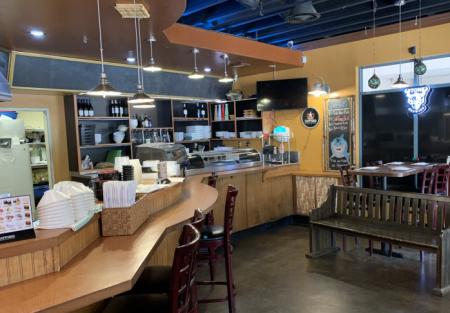 Turn Key Sushi Restaurant-2600/rent concept in high demand